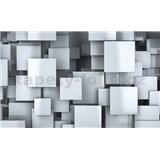 Vliesové fototapety 3D čtverce rozměr 416 cm x 254 cm