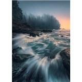 Vliesové fototapety Hefele rozbouřené moře, rozměr 200 cm x 280 cm