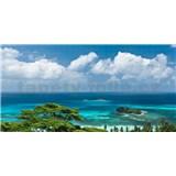 Vliesové fototapety Hefele výhled na moře, rozměr 400 cm x 200 cm