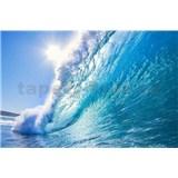 Vliesové fototapety vlny rozměr 375 cm x 250 cm