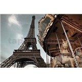 Fototapety Carrousel de Paris rozměr 184 cm x 127 cm