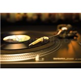 Fototapety Gramofonová deska rozměr 184 cm x 127 cm