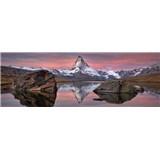 Fototapety Matterhorn rozměr 368 cm x 127 cm