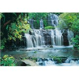 Fototapety Pura Kaunui Falls rozměr 368 cm x 254 cm