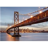 Fototapety Bay Bridge rozměr 368 cm x 254 cm