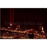 Vliesové fototapety New York světla města rozměr 208 cm x 146 cm