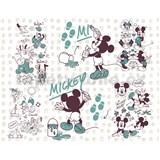 Vliesové fototapety Disney Mickey a přátelé  rozměr 350 cm x 280 cm