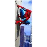 Fototapeta Spiderman 90 degree