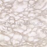 Samolepící tapety mramor béžový Carrara 90 cm x 15 m