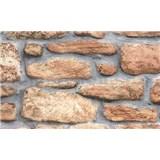 Samolepící tapety - kamenná stěna 90 cm x 15 m