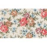 Samolepící tapety - květy 67,5 cm x 15 m