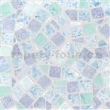 Samolepící tapety mozaika modrá 45 cm x 15 m