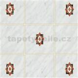 Samolepící tapety kachličky Miláno šedé 45 cm x 15 m