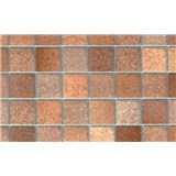 Samolepící tapety - mozaika hnědá 90 cm x 15 m