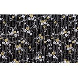 Samolepící tapety orientální květiny 90 cm x 15 m