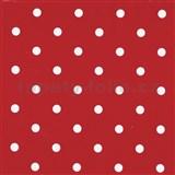 Samolepící tapety puntíky červené 45 cm x 15 m