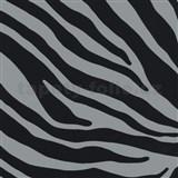 Samolepící tapety zebra šedá 45 cm x 15 m