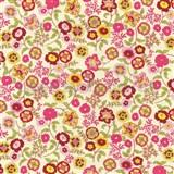 Samolepící tapety květiny barevné 45 cm x 15 m