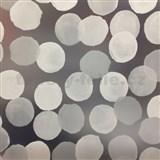 Samolepící tapety transparentní kolečka 45 cm x 15 m