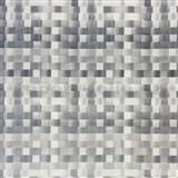 Samolepící tapety tkaný košík stříbrný 45 cm x 15 m