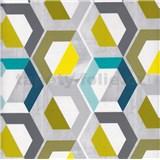 Samolepící tapety moderní vzor geometrický 45 cm x 15 m
