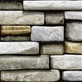 Samolepící fólie kameny - 45 cm x 15 m