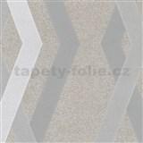 Vliesové tapety na zeď IMPOL Giulia 3D hrany hnědé