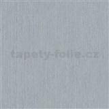 Vliesové tapety na zeď IMPOL Giulia jednobarevná šedá s jemnými metalickými proužky