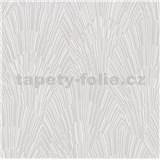 Vliesové tapety na zeď IMPOL Giulia Art-Deco vějířový vzor bílý