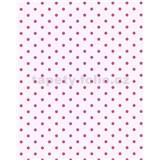 Vliesové tapety Gloockler Childrens Paradise - puntíky sytě růžové na růžovém podkladu