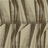 Dětské tapety Graffiti - Ltd. Collection - ocelové pláty - zlatohnědé