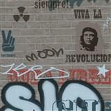 Dětské tapety Graffiti - Ltd. Collection - Street Wall - tmavě šedá MEGA SLEVA