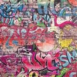 Papírové tapety na zeď Graffiti