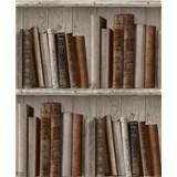 Vliesové tapety na zeď Facade knihovna světlá