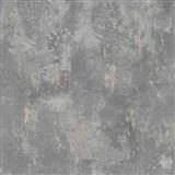Vliesové tapety na zeď beton šedý s patinou