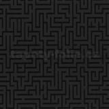 Vliesové tapety na zeď Graphics Alive - Labyrint černý