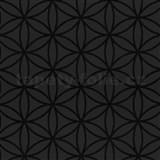 Vliesové tapety na zeď Graphics Alive - geometrické květy černé - SLEVA