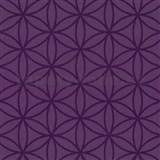 Vliesové tapety na zeď Graphics Alive - geometrické květy fialové - SLEVA