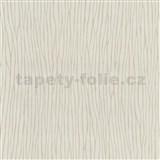 Vliesové tapety na zeď Graphics Alive - nepravidelné proužky světle hnědé