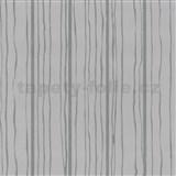 Vliesové tapety na zeď Graphics Alive - proužky stříbrné - SLEVA