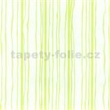 Vliesové tapety na zeď Graphics Alive - proužky zelené - SLEVA