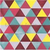 Vliesové tapety na zeď Graphics Alive geometrický vzor barevný