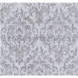 Vliesové tapety na zeď Graziosa zámecký vzor šedý
