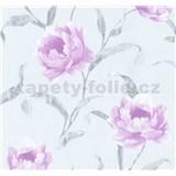 Vliesové tapety na zeď Graziosa květy růžové
