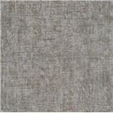 Vliesové tapety na zeď Greenery textilní struktura hnědo-stříbrná