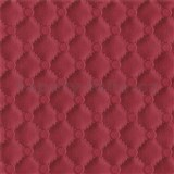 Vliesové tapety na zeď IDEA OF ART imitace koženky s prošíváním a knoflíky červené