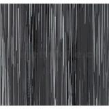 Vliesové tapety na zeď Infinity proužky šedo-černé