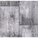 Papírové tapety na zeď It's Me betonové bloky tmavě šedé