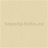 Papírové tapety na zeď Je T´aime geometrický vzor žlutý