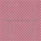 Papírové tapety na zeď Je T´aime geometrický vzor červený